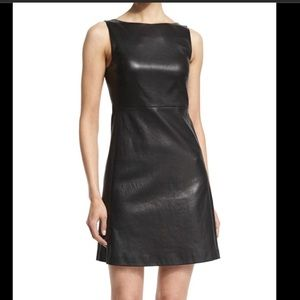 Theory NWT leather dress- Mivrill